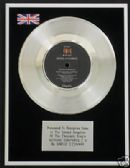"SINEAD O'CONNAR -7"" Platinum Disc- NOTHING COMPARES 2 U"
